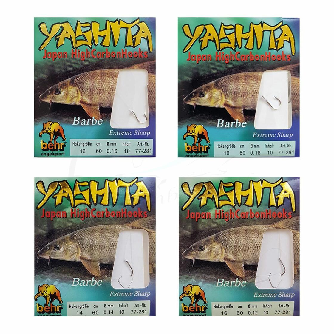 2-12 Brassenhaken Friedfisch Haken 10 Allround Angelhaken mit Vorfach Gr